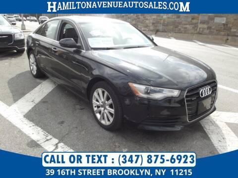 2014 Audi A6 for sale at Hamilton Avenue Auto Sales in Brooklyn NY