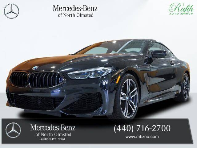 2020 BMW 8 Series for sale at Mercedes-Benz of North Olmsted in North Olmstead OH