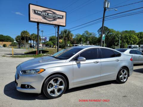 2013 Ford Fusion for sale at Trust Motors in Jacksonville FL