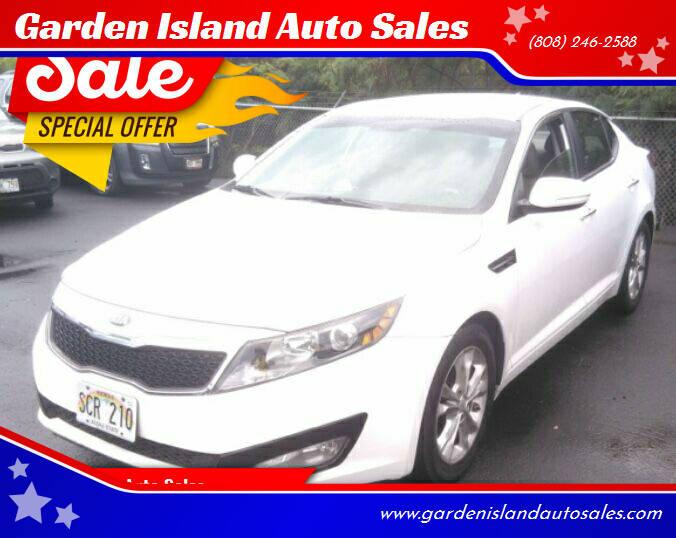 2013 Kia Optima for sale at Garden Island Auto Sales in Lihue HI