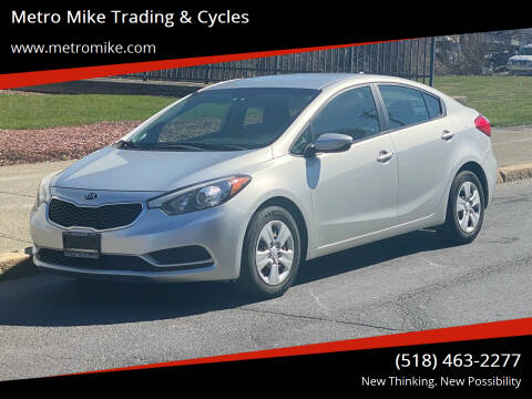 2014 Kia Forte for sale at Metro Mike Trading & Cycles in Albany NY