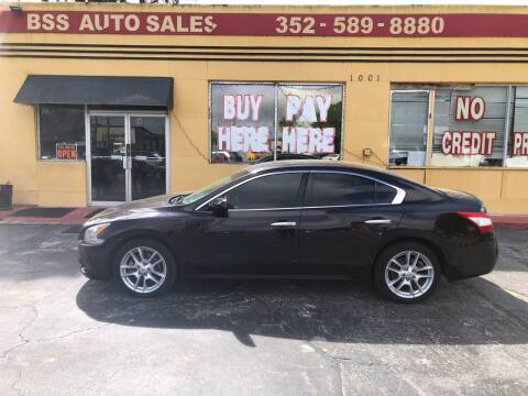 2011 Nissan Maxima for sale at BSS AUTO SALES INC in Eustis FL