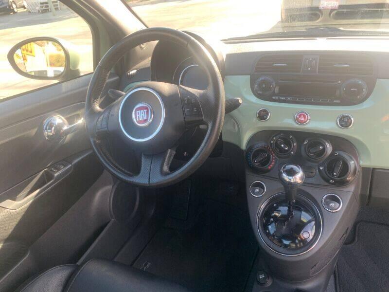 2015 FIAT 500 Sport 2dr Hatchback - Riverside CA