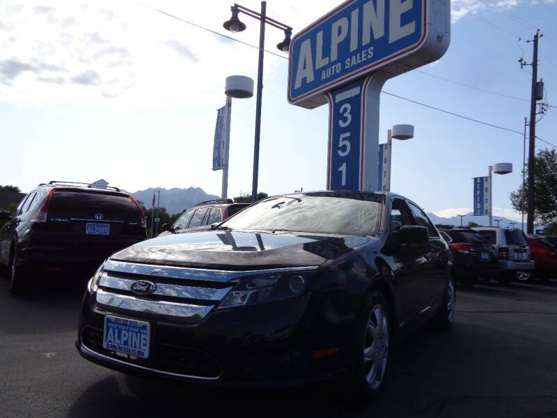 2010 Ford Fusion for sale at Alpine Auto Sales in Salt Lake City UT