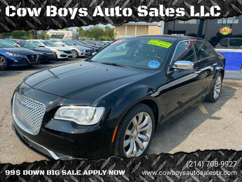 2018 Chrysler 300 for sale at Cow Boys Auto Sales LLC in Garland TX