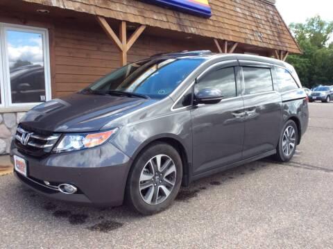 2015 Honda Odyssey for sale at MOTORS N MORE in Brainerd MN