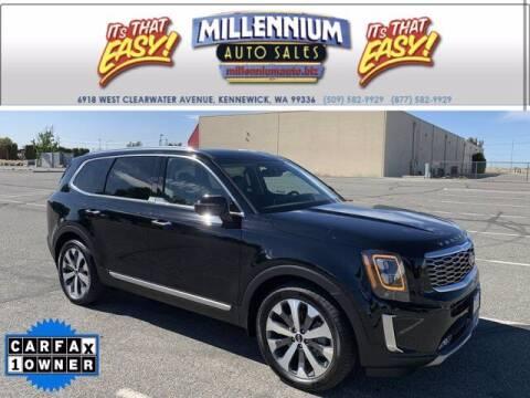 2021 Kia Telluride for sale at Millennium Auto Sales in Kennewick WA
