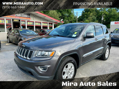 2014 Jeep Grand Cherokee for sale at Mira Auto Sales in Raleigh NC