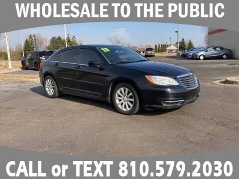 2013 Chrysler 200 for sale at LASCO FORD in Fenton MI