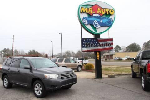 2010 Toyota Highlander for sale at MR AUTO in Elizabeth City NC
