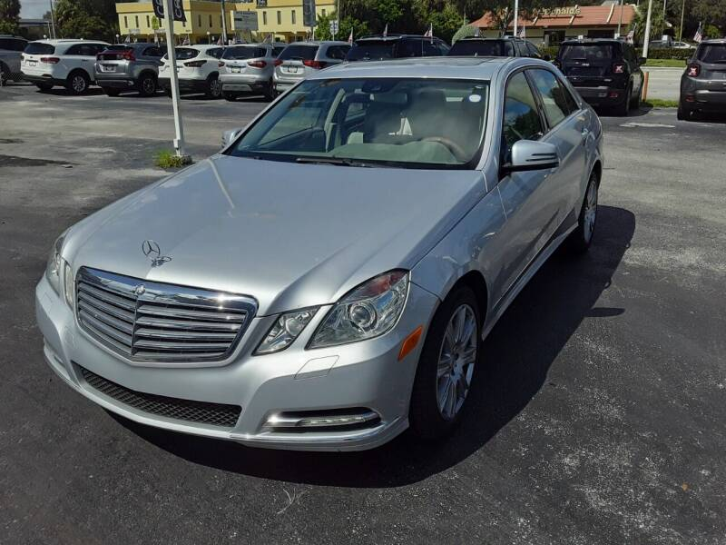 2013 Mercedes-Benz E-Class for sale at YOUR BEST DRIVE in Oakland Park FL