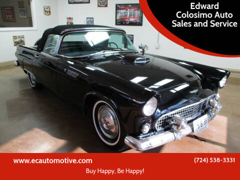 1956 Ford Thunderbird for sale at Edward Colosimo Auto Sales and Service in Evans City PA