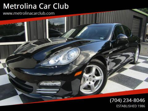 2012 Porsche Panamera for sale at Metrolina Car Club in Matthews NC
