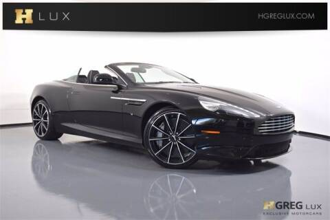 2016 Aston Martin DB9 for sale at HGREG LUX EXCLUSIVE MOTORCARS in Pompano Beach FL
