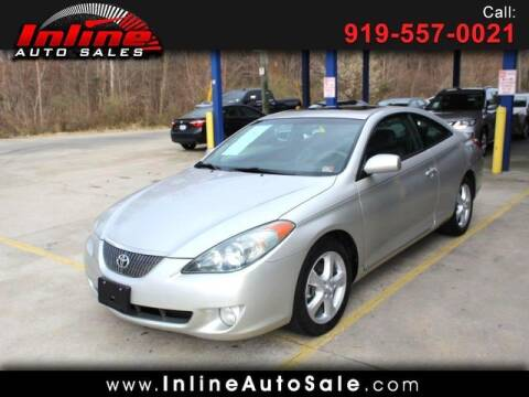 2006 Toyota Camry Solara for sale at Inline Auto Sales in Fuquay Varina NC