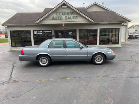 1998 Mercury Grand Marquis for sale at Clarks Auto Sales in Middletown OH