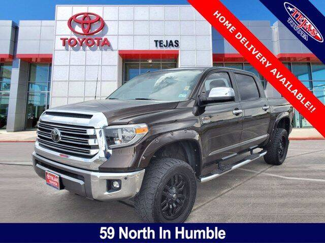 2018 Toyota Tundra for sale at TEJAS TOYOTA in Humble TX