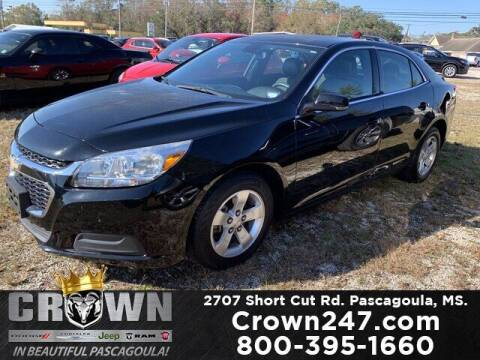 2016 Chevrolet Malibu Limited for sale at CROWN  DODGE CHRYSLER JEEP RAM FIAT in Pascagoula MS