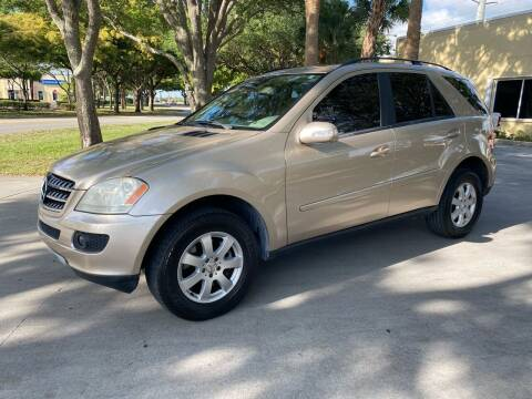 2006 Mercedes-Benz M-Class for sale at Ultimate Dream Cars in Wellington FL