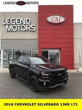 2016 Chevrolet Silverado 1500 for sale at Legend Motors of Waterford - Legend Motors of Ferndale in Ferndale MI