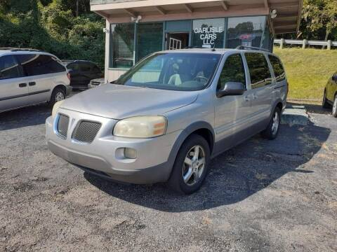 2005 Pontiac Montana SV6 for sale at Carlisle Cars in Chillicothe OH