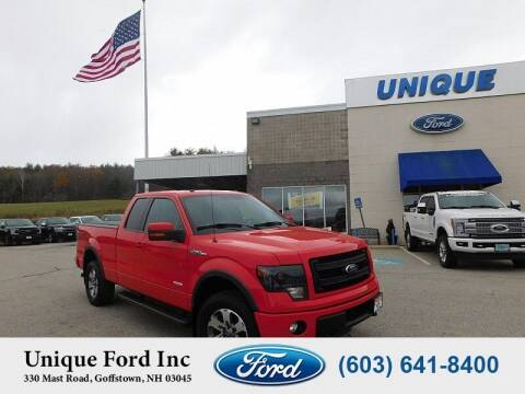 2014 Ford F-150 for sale at Unique Motors of Chicopee - Unique Ford in Goffstown NH