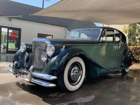 1949 Jaguar Mark V Saloon for sale at Vintage Car Collector in Glendale CA