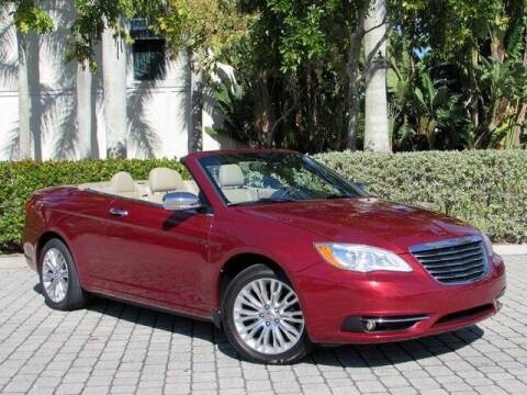 2011 Chrysler 200 Convertible for sale at Auto Quest USA INC in Fort Myers Beach FL