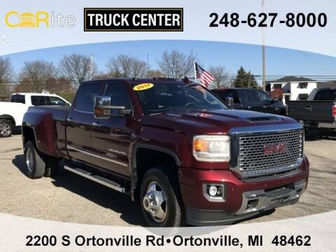 2017 GMC Sierra 3500HD for sale at Carite Truck Center in Ortonville MI