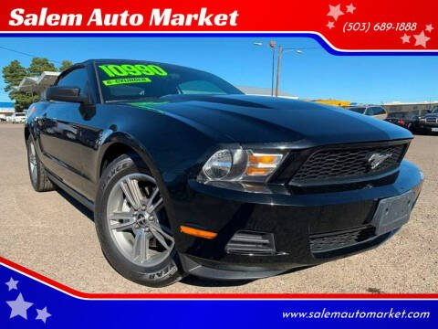 2012 Ford Mustang for sale at Salem Auto Market in Salem OR