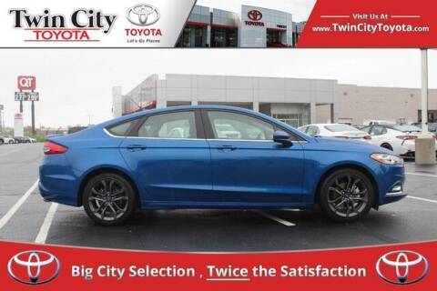 2018 Ford Fusion for sale at Twin City Toyota in Herculaneum MO