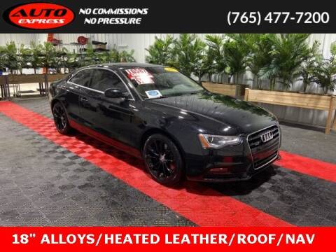 2013 Audi A5 for sale at Auto Express in Lafayette IN
