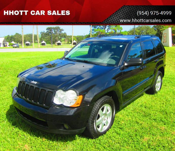 2009 Jeep Grand Cherokee for sale at HHOTT CAR SALES in Deerfield Beach FL