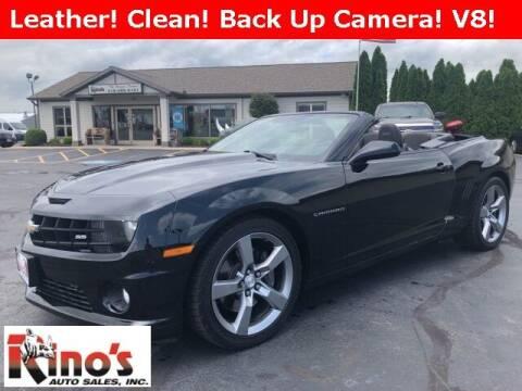 2012 Chevrolet Camaro for sale at Rino's Auto Sales in Celina OH