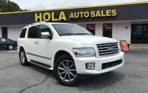 2010 Infiniti QX56 for sale at HOLA AUTO SALES CHAMBLEE- BUY HERE PAY HERE - in Atlanta GA