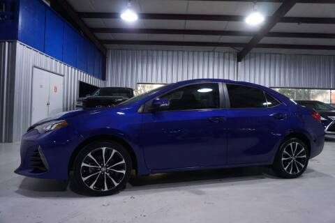 2019 Toyota Corolla for sale at SOUTHWEST AUTO CENTER INC in Houston TX