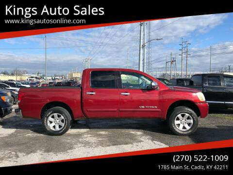 2005 Nissan Titan for sale at Kings Auto Sales in Cadiz KY