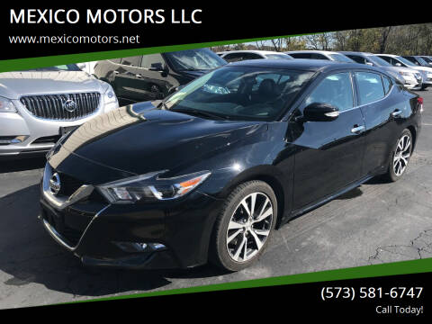 2017 Nissan Maxima for sale at MEXICO MOTORS LLC in Mexico MO