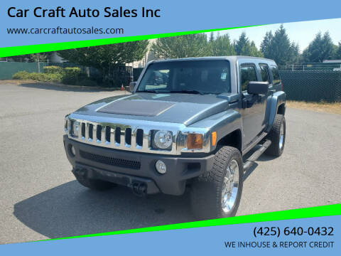 2006 HUMMER H3 for sale at Car Craft Auto Sales Inc in Lynnwood WA