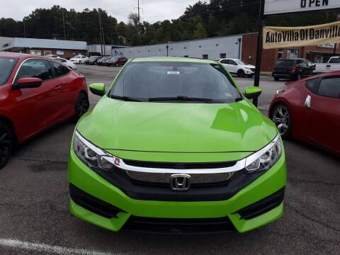 2016 Honda Civic for sale at Auto Villa in Danville VA