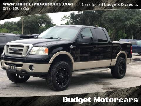 2007 Ford F-150 for sale at Budget Motorcars in Tampa FL