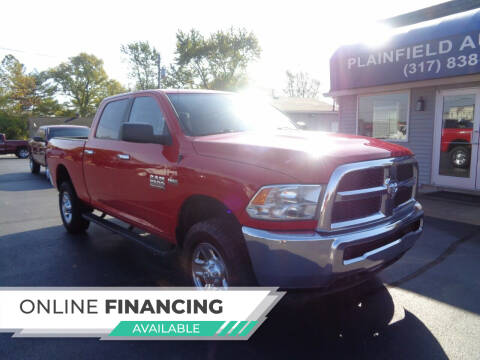 2016 RAM Ram Pickup 2500 for sale at Plainfield Auto Sales in Plainfield IN