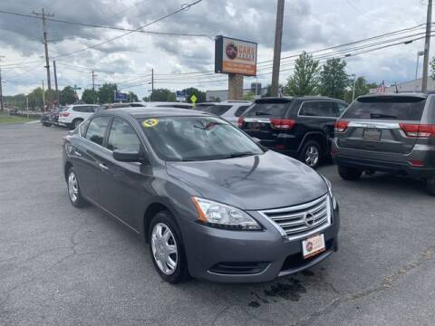 2015 Nissan Sentra for sale at Cars 4 Grab in Winchester VA