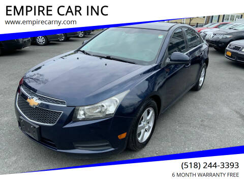2011 Chevrolet Cruze for sale at EMPIRE CAR INC in Troy NY