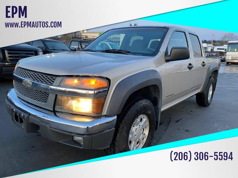 2005 Chevrolet Colorado for sale at EPM in Auburn WA