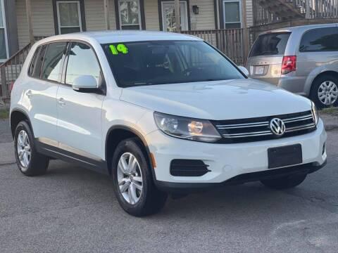 2014 Volkswagen Tiguan for sale at Tonny's Auto Sales Inc. in Brockton MA