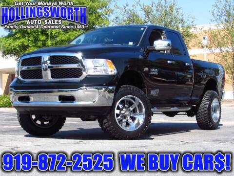 2016 RAM Ram Pickup 1500 for sale at Hollingsworth Auto Sales in Raleigh NC