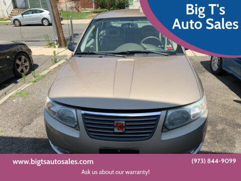 2006 Saturn Ion for sale at Big T's Auto Sales in Belleville NJ