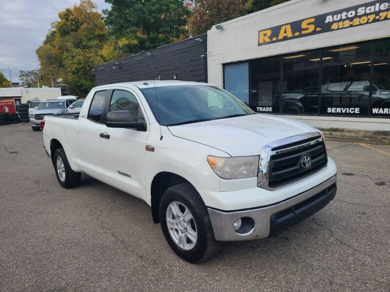 2012 Toyota Tundra for sale at R.A.S. Auto Sales Inc. in Pittsburgh PA