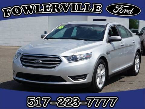 2016 Ford Taurus for sale at FOWLERVILLE FORD in Fowlerville MI